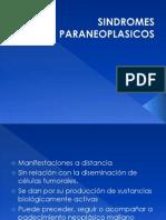 SÍNDROMES  PARANEOPLÁSICOS  NEUROLÓGICOS