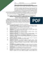 Reglamento de S H y MA en El Trabajo Del Sector PF