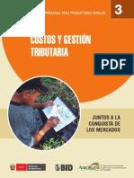 Costos y Gestion Tributaria (Manual de Gestion Empresarial Para Prod. Rurales)