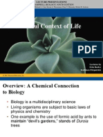Chpt 2 of a biology book - Chemistry