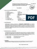 Silabo - Redaccion y Comunicacion