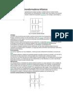 Conexiones de transformadores trifásicos