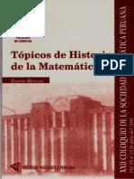 Benazic Renato - Topicos de Historia de La Matematica