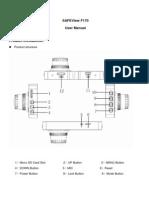 F170 User Manual