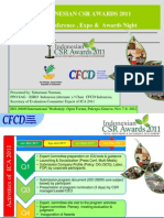 Indonesian CSR Awards 2011