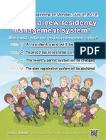 Japanese Residency Management System