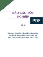 danh_gia_tinh_hinh_cap_giay_chung_nhan_quyen_su_dung_dat_o_tai_huyen_ky_anh_tinh_ha_tinh_giai_doan_2005_2009_3799.doc