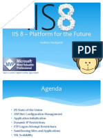 IIS 8 – Platform for the Future