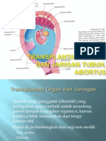 Transplantasi Organ Dan Jarigan Tubuh, Abortus