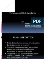 Risk Avoidance in Insurance