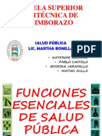 Exposicion Funciones de Salud Publica