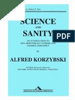 Korzybski - Science and Sanity 5e (IGS, 1994)
