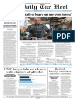 The Daily Tar Heel for April 17, 2014