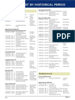 Osprey Complete Book List by Period 2004