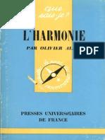 4001734 LHarmonie Olivier Alain