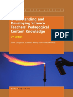 Understanding and Developing Science Teachers Pedagogical Content Knowledge