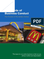 Mcdonalds Standard of Business Conduct