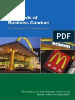 Mcdonalds Standard of Business Conduct