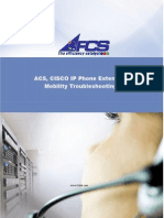 ACS, CISCO Extension Mobility Troubleshoot