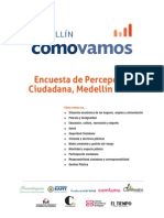 Informe de resultados de la Encuesta de Percepción Ciudadana, 2013