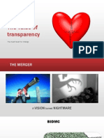 The Value of Transparency
