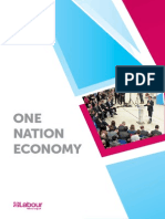 One Nation Economy