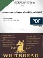 Implementarea Si Gestionarea Schimbarii Organizationale, CARO, I, Gr. 2