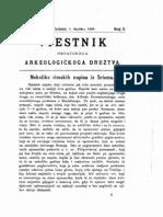 Nekoliko Rimskih Napisa iz Srema