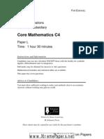 Solomon L C4 Edexcel Paper