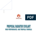 Proposal Radiator Coolant High Performance and Tropical Formula