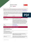 Singapore IFRS Profile