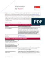 Singapore IFRS Profile