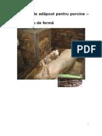 Sisteme de Adapost Pentru Porci