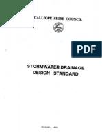 Stormwater Drainage Design Standard