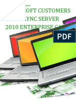 Microsoft Customers using Lync Server 2010 Enterprise CAL - Sales Intelligence™ Report