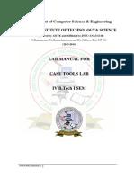 Case Tools Lab Manual IV CSE