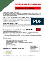 Viatge Murcia 19 d'Abril