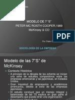 7 S de McKinsey (1)