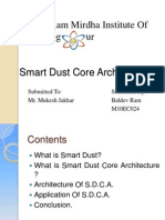 Smart Dust Core Architecture