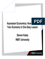 Keynesian Economics - How to Ruin Your Economy in One Easy Lesson