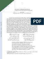 MARCHANDS, TAVERNIERS ET ÉCHANSONS Étrangers et gens du Livre dans la poésie bachique arabe - B. Paoli