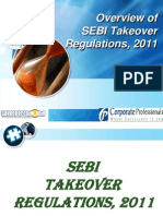 Overview of SEBI Takeover Regulations, 2011 (1)