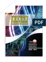 Engineering Degree Programmes Handbook 2013-2014