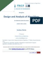 Design and Analysis of Algorithms - VTU Life [20ebooks.com]
