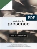 82916572 Practicing the Presence of God Joel S Goldsmith[1]
