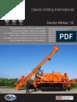 Dando Mintec 18 (Dando Drilling Indonesia) Mineral Exploration rig