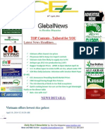 16th April,2014 Daily Rice E-Newsletter by Riceplus Magazine