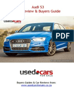 Audi S3 Car Review & Buyers Guide
