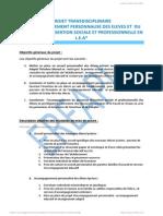 projet transdisciplinaire version internet