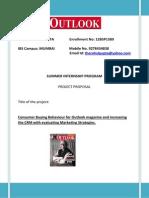 Rahul Gupta Outlook Proposal Report